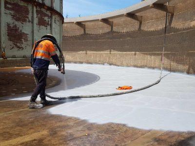 Industrial Tank Restoration & Polyurea Coating